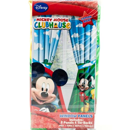 How To Hang Curtains With Rings Mickey Mouse Bedroom Dres