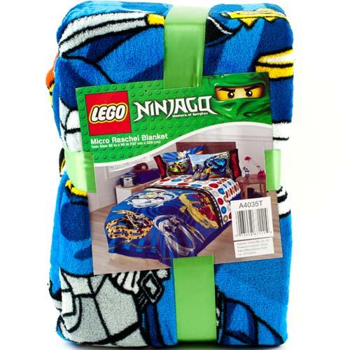 "Lego Ninjago 62"" x 90"" Fleece Plush Throw Blanket Kids Bedding Boys ..."