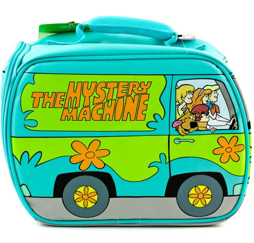 Scooby Doo Mystery Machine Van http://www.ebay.com/itm/SCOOBY-DOO-Mystery-Machine-Soft-Insulated-LUNCH-BOX-KIT-Van-Bag-Tote-/350583774177