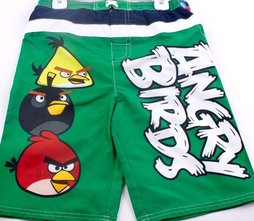 Summers just around the corner get ready to play in the water with Angry Birds Toddler Boys Swim Trunks Free Shipping Houston Kids Fashion Clothing Store.